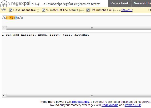 Free online REGEX builder | ly2xxx